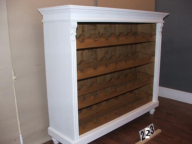 weinregal flaschenregal weinflaschenregal shabby chic nr 223 ebay. Black Bedroom Furniture Sets. Home Design Ideas